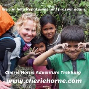 We Can Help Nepal Smile & Prosper Again